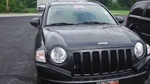 compass jeep 2009 2010 jeep compass sport suv black used for sale dayton troy piqua