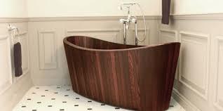 vasche da bagno legno vasche da bagno in legno artigianali di khis bath designbuzz it