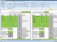 Etsy Spreadsheet Annual Inventory Spreadsheet Track By Timesavingtemplates On Etsy
