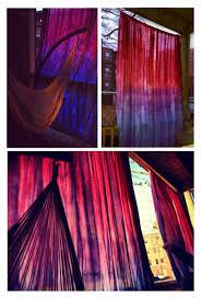 Purple Ombre Curtains Dip Dye Ombré Curtains 5 Steps