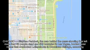 Grant Park Map Chicago by Las Vegas Shooter Booked Hotel Rooms Near Lollapalooza Report