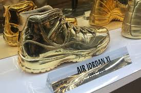 dipped in gold these classic air jordans were dipped in gold for nba all