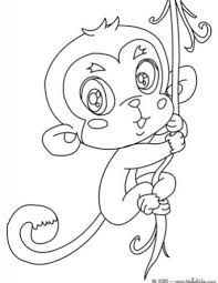 baby monkey coloring pages regard motivate coloring