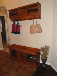 entryway bench building plans entryway storage projects cool