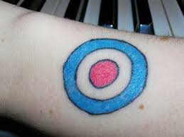 bullseye tattoo aimed and focused tattoo designs