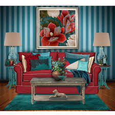 polyvore home decor red and turquoise living room teal and red living room polyvore