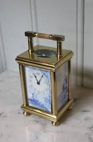 antiques atlas unusual enamel panel carriage clock