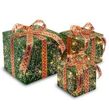 indoor lighted gift boxes christmas yard outdoor decor gift boxes lighted presents light up