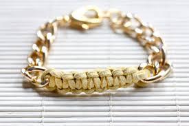 bracelet chain diy images My diy knot chain bracelet jpg