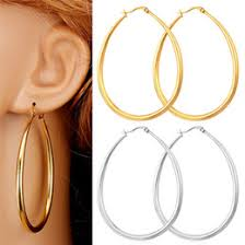 oval hoop earrings gold oval hoops online gold oval hoops for sale