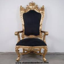 King Chair Rental Pirate U0027s King Regency Style French Reproduction Throne Chair