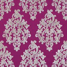 Furniture Upholstery Fabric by Fuchsia Velvet Damask Upholstery Fabric For Furniture