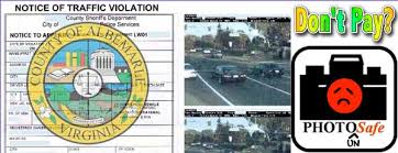 traffic light camera ticket ignoring is bliss why virginians can safely discard red light