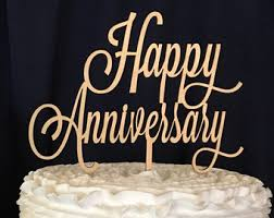 anniversary cake toppers marvelous ideas happy anniversary cake topper gorgeous inspiration