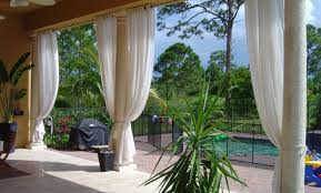 Inexpensive Backyard Privacy Ideas Curtains Amazing Outdoor Patio Curtains 10 Patio Privacy Ideas