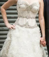 pnina tornai 4143 10 find it for sale on preownedweddingdresses