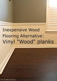 Uneven Floor Laminate Make Them Wonder Inexpensive Wood Floor Alternative