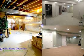 Partially Finished Basement Ideas Basement Remodeling And Finishing In Dayton Ohio Ohio Home Doctor