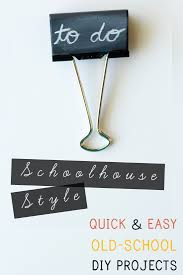 schoolhouse style diy quick and easy projects erin wing