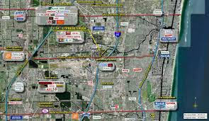 The Florida Mall Map by Fort Lauderdale Fl Cypress Creek Station Retail Space Kimco