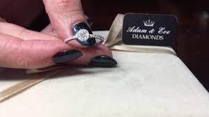 inel logodna aur alb inel logodna aur alb 18k cu diamante