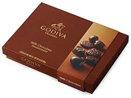 godiva chocolatier 22 milk chocolate gift box