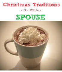 traditions to start with your spouse