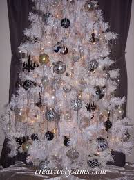 images of white christmas tree with white decorations white