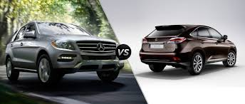 suv lexus 2014 mercedes benz ml350 4matic vs lexus rx350