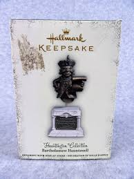 hallmark halloween ornaments hallmark halloween ornament bartholomew hauntswell 2005