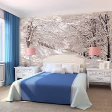 idee tapisserie chambre 45 idées de déco murale en papiers peints photos incroyables