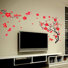red tree wall decal color walls your house