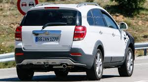 chevrolet captiva 2014 chevrolet captiva facelift spied for the first time