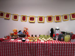 winnie the pooh baby shower ideas classic winnie the pooh baby shower themed liviroom decors