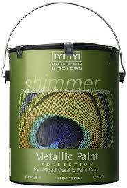 amazon com modern masters me196 gal metallic paint pearl white