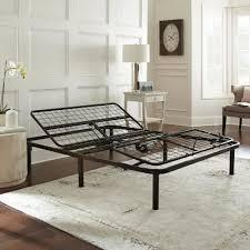 rest rite gold rest queen metal adjustable bed frame hd550afqn