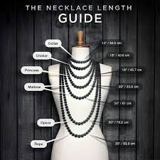 collar length necklace images Necklace length chart check chart for sizing details jewelry jpg