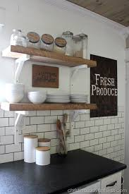 Soapstone Subway Tile Diy Farmhouse Kitchen Makeover All The Details Christinas