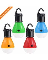 battery powered hanging l bargains on 4 pack led tent lights portable cing lights lantern