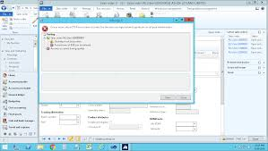 error in sales order picking list in ax 2012 r3 microsoft