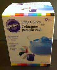 wilton 12 color cookie icing kit 601 5580 ebay