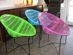 solair chair or motel chair retro vintage round plastic patio