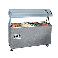 38732604 Food Steam Table W Granite Wrap Manual Controls