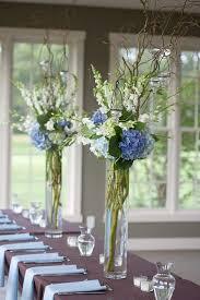 shades of blue wedding centerpiece ideas blue wedding