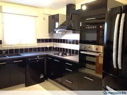 cuisine 2ememain beau meubles cuisines ikea 4 cuisine equip233e noir laqu233e