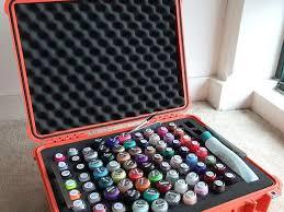 36 best suitcase diy for nail polish storage images on pinterest