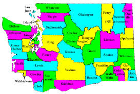 seattle map by county neah bay maps
