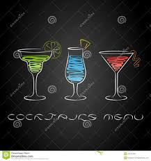 cocktail party design menu background stock vector image 54241548