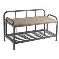 Metal Hall Tree Bench Wood U0026 Metal Hall Tree Bench Rc Willey Furniture Store