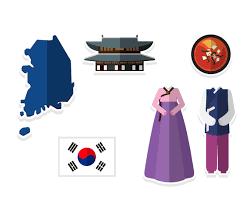 Korea Flag Icon Flat Korean Icon Vector Art U0026 Graphics Freevector Com